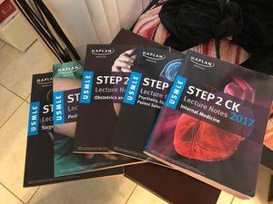 USMLE Kaplan step 1 & step 2 C.K. books for Sale in Miami, FL
