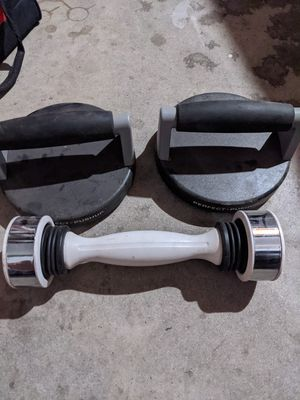 Perfect push up and dumbbell for Sale in Fresno, CA