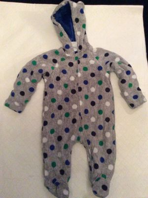 One piece snowsuit—size 6-9 months for Sale in Portsmouth, VA