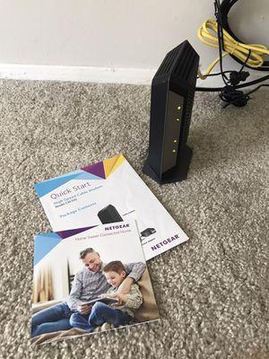 NETGEAR CM700 (32x8) DOCSIS 3.0 Gigabit Cable Modem for Sale in Ann Arbor, MI