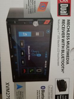 Car Dual 7 Inch LED Touch Screen Receiver for Sale in Pompano Beach,  FL
