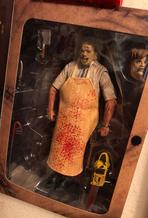 Leather face action figure for Sale in Modesto, CA
