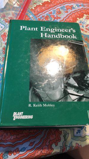 Plant Engineer's Handbook for Sale in Nashville, TN