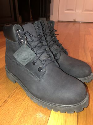 Black Timberlands Boots Size 7, Like New for Sale in Everett, MA