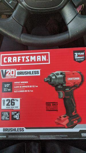 Craftsmen v 20 impact wrench for Sale in Cumming, GA