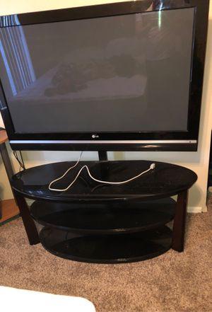 Entertainment Center, 50 inch LG TV for Sale in Phoenix, AZ