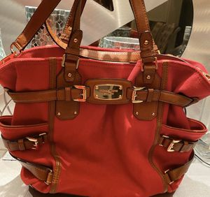 Michael Kors red gansevoort large for Sale in River Forest, IL