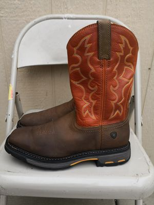 Ariat Soft toe boots size 9D for Sale in Riverside, CA