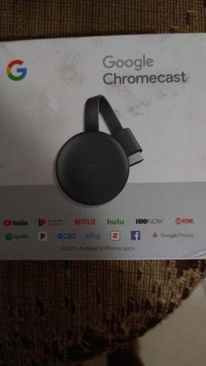 Goggle chromecast mfg 9/2019 for Sale in Palm Harbor, FL
