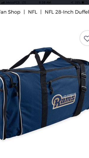 Rams duffle bag for Sale in Las Vegas, NV
