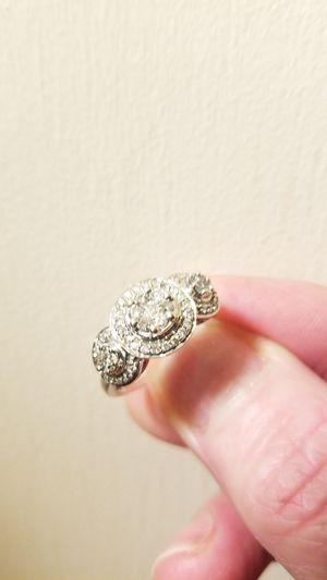 White gold diamond ring for Sale in Mountain Center, CA