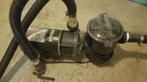 Swimming pool pump. Strong enough for a XL 10000 gallon pool for Sale in Brooklyn, NY