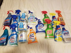 LYSOL, WINDEX, OXICLEAN, ETC for Sale in White Plains, NY