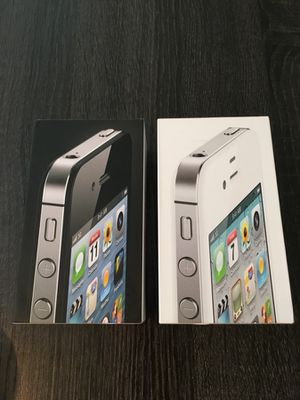 Apple boxes 4 for Sale in Silver Spring, MD