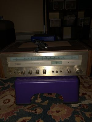 Technics FM/AM vintage stereo receiver for Sale in Mendon, MA