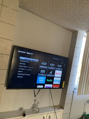 50 inches Sharp TV for Sale in Las Vegas, NV