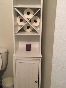 Bathroom Hutch Organizer Good Shape As Shown for Sale in El Segundo,  CA