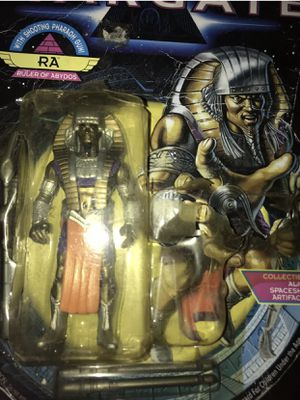 Collectible Ra Ruler of Abydos Action Figure Stargate Animated Series 1994 New for Sale in Boiling Springs, SC