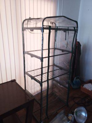 INDOOR GROW TENT w/Shelves GOOD CONDITION!!! for Sale in Oak Glen, CA
