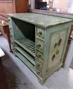 Beautiful antique wine cabinet for Sale in San Diego, CA