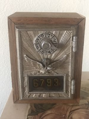 Vintage Post Office Coin Box for Sale in Austin, TX