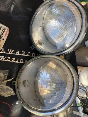 Hella Porsche headlights and vw radios for Sale in Menifee, CA