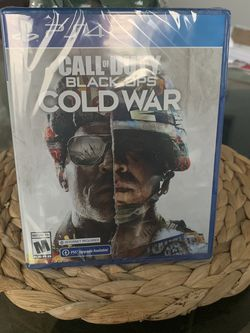 Call of Duty Black Ops Cold War PS4 for Sale in Fresno,  CA