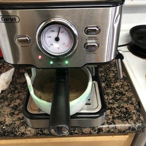 Coffee maker with adjustable milk frothing function espresso machine cappuccino machine for latte mocha home barista for Sale in Claremont, CA