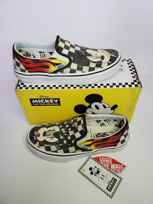Vans x Disney Classic Slip On 90th Anniversary Mickey & Minnie - Women's Size 5.5 for Sale in Los Angeles, CA
