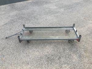 Heavy duty steel frame cart for Sale in Austin, TX