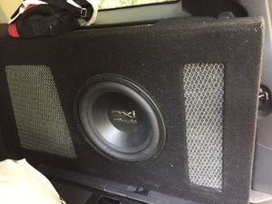 Sub box and amp for Sale in Cumming, GA