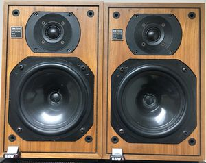 Vintage B&W DM-1200 Monitor Speakers for Sale in Silver Spring, MD