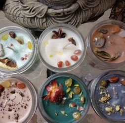 Handmade Healing Crystal Candles for Sale in Orrville,  AL