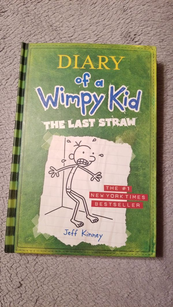 Diary of a Wimpy Kid, The Last Straw, No. 3, New