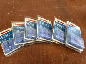 6x Frost King6-Pack Air Conditioner Pan Tablets for Sale in Pomona, CA