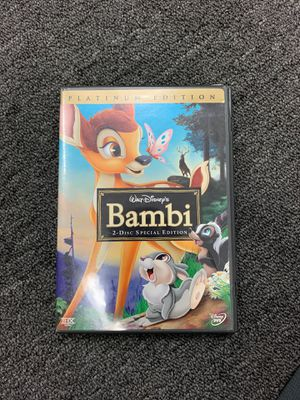 Bambi [Two-Disc Platinum Edition] for Sale in Anaheim, CA