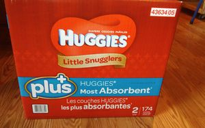 Huggies diapers new in box for Sale in Everett, WA
