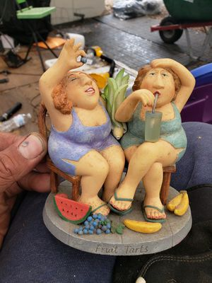 Fruit Tarts statue made by Erika Oller for Sale in Tampa, FL