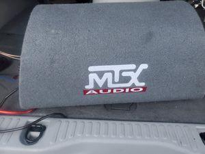 Mtx Audio speaker with amp for Sale in Marietta, GA
