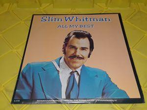 Slim Whitman All My Best vinyl record album for Sale in Downey, CA