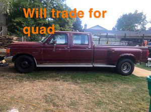 1991 Ford F-350 Power stroke turbo diesel 7.3L crew crab dually for Sale in Portland, OR