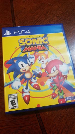 Sonic Mania for PS4 for Sale in Fontana, CA