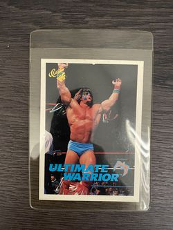 Wwf Classic Vintage Collectible Ultimate Warrior Card for Sale in Los Angeles,  CA