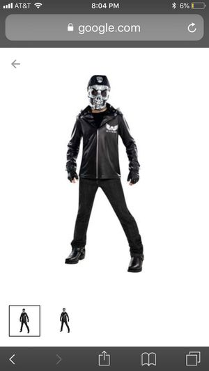 Boys Bad to the Bone Costume Size M Halloween Multi-Colored Male for Sale in Lynn, MA