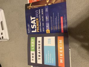 LSAT Books Bundle for Sale in Lawson, MO