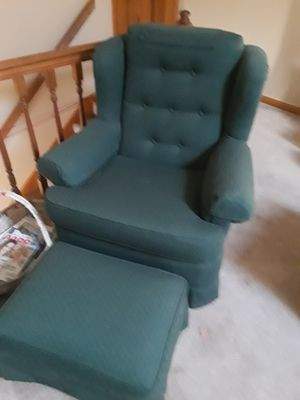 Couch and chair and foot stool for Sale in West Seneca, NY