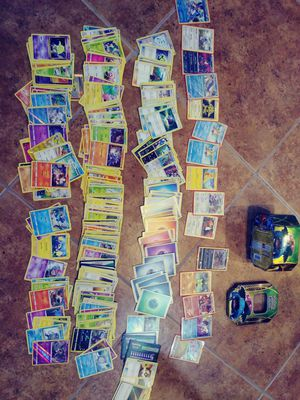 Pokemon cards with box for Sale in Chandler, AZ