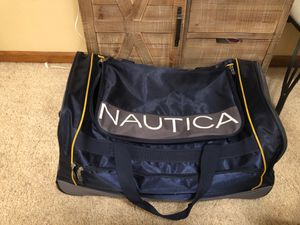 Nautica duffle bag with wheels for Sale in Lancaster, CA