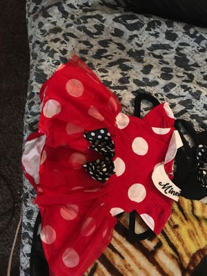 0-3 months Minnie Mouse costume for Sale in Corona, CA