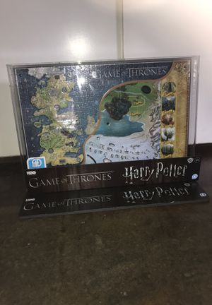 Game of thrones and Harry Potter 3D puzzle for Sale in Sacramento, CA